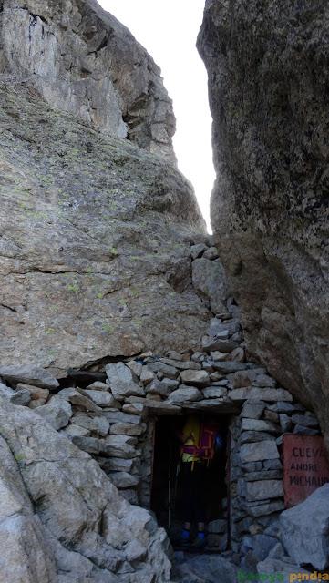 entrada del Abrigo Michaus