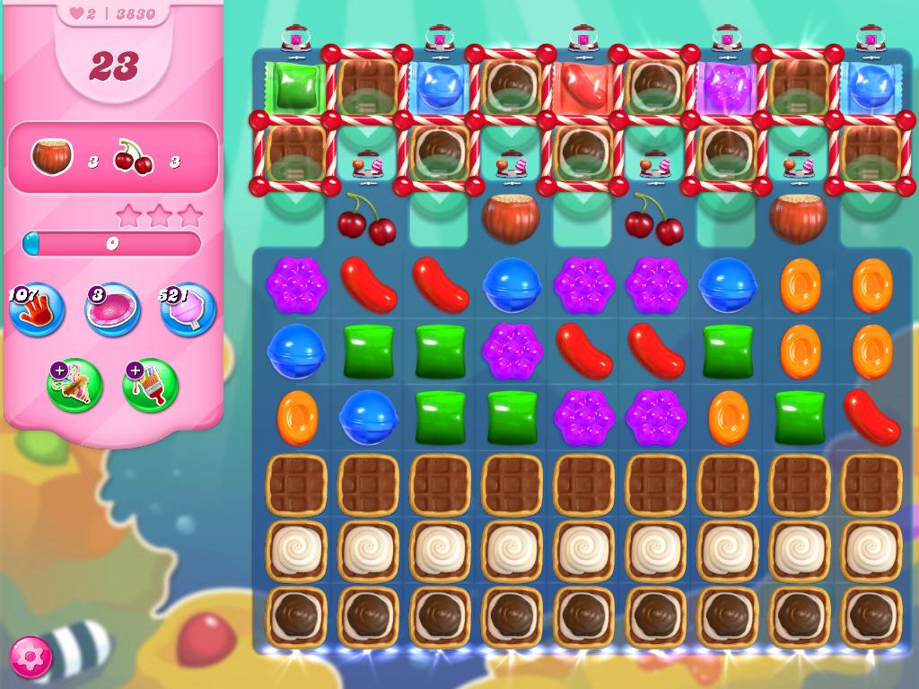 Candy Crush Saga level 3830