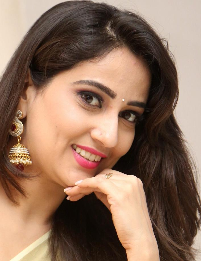Indian TV Actress Manjusha Long Hair Face Close Up Stills