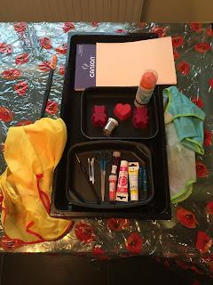 Matériel pour peinture marbrée, DIY