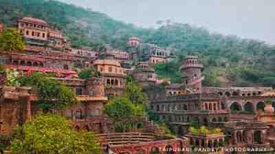 Neemrana Fort Palace, Alwar, near Delhi, India