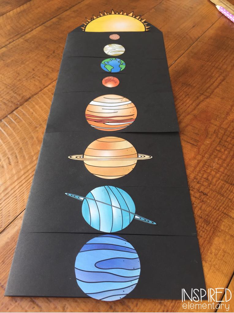 preschool solar system boklet - photo #32