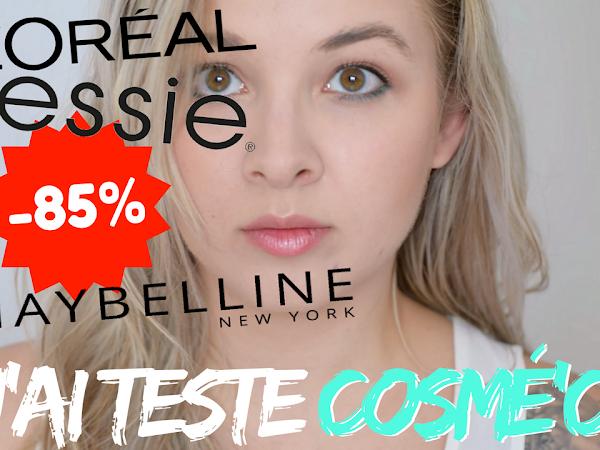 Des marques de maquillages à PRIX CASSES ?! + CODE PROMO