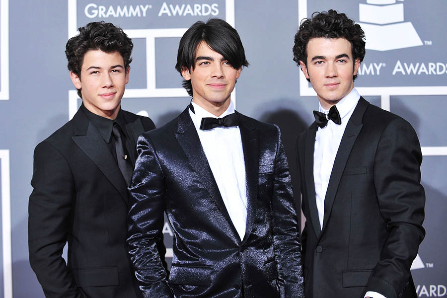 Jonas Brothers Boy Band Handsome and cool wallpaper