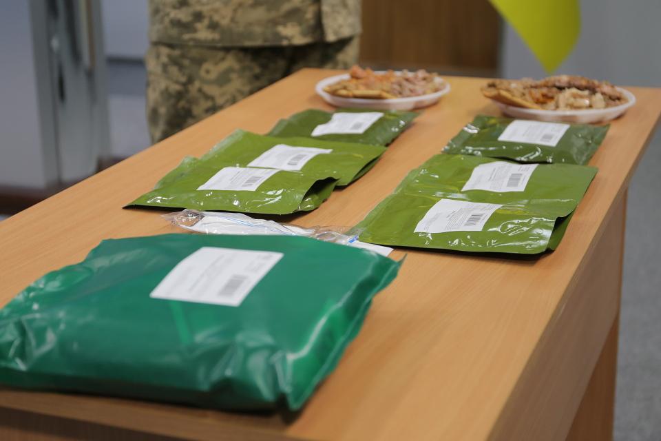 Міністерство оборони презентувало разовий сухпай