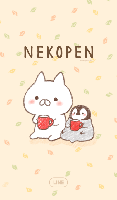 Penguin and Cat Days Autumn