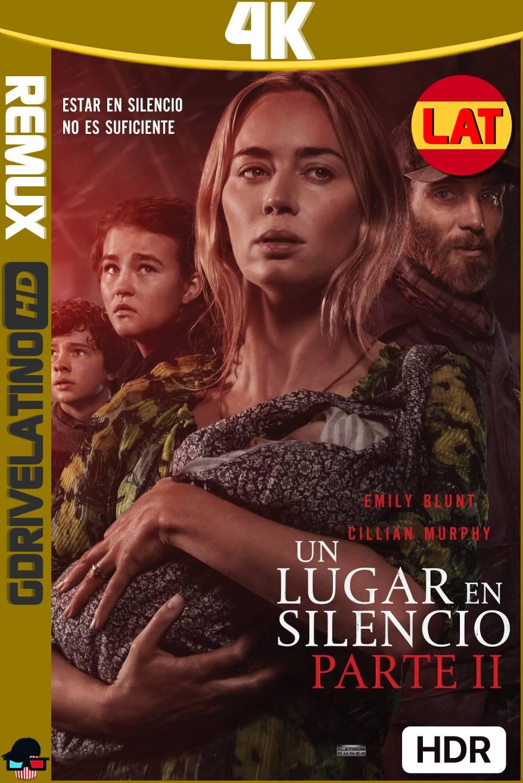 Un Lugar En Silencio Parte II (2021) BDRemux 4K HDR Latino-Ingles MKV