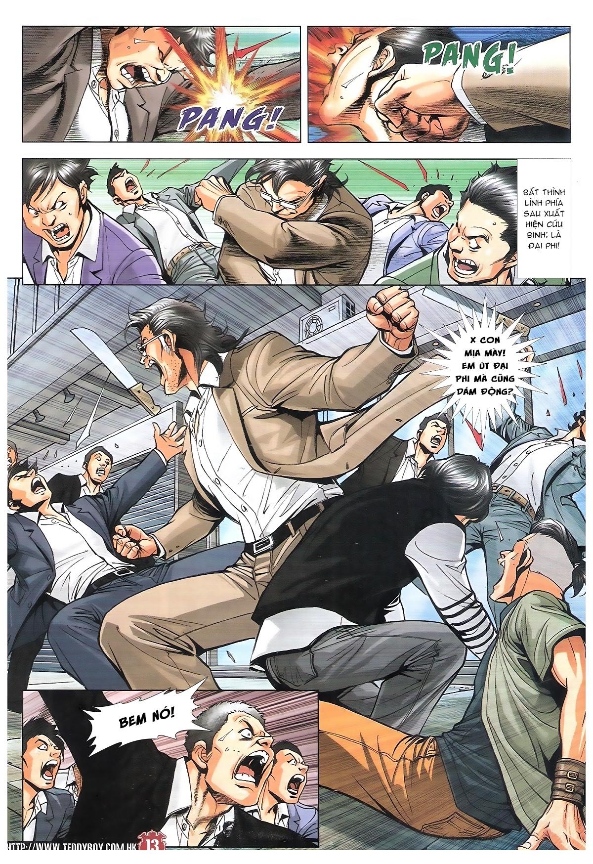 Người Trong Giang Hồ chapter 1801: đại phi tái chiến trần tuấn hiền trang 10