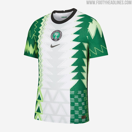 Nike Nigeria 2020-21 Home & Away Kits Released - Now Available ...