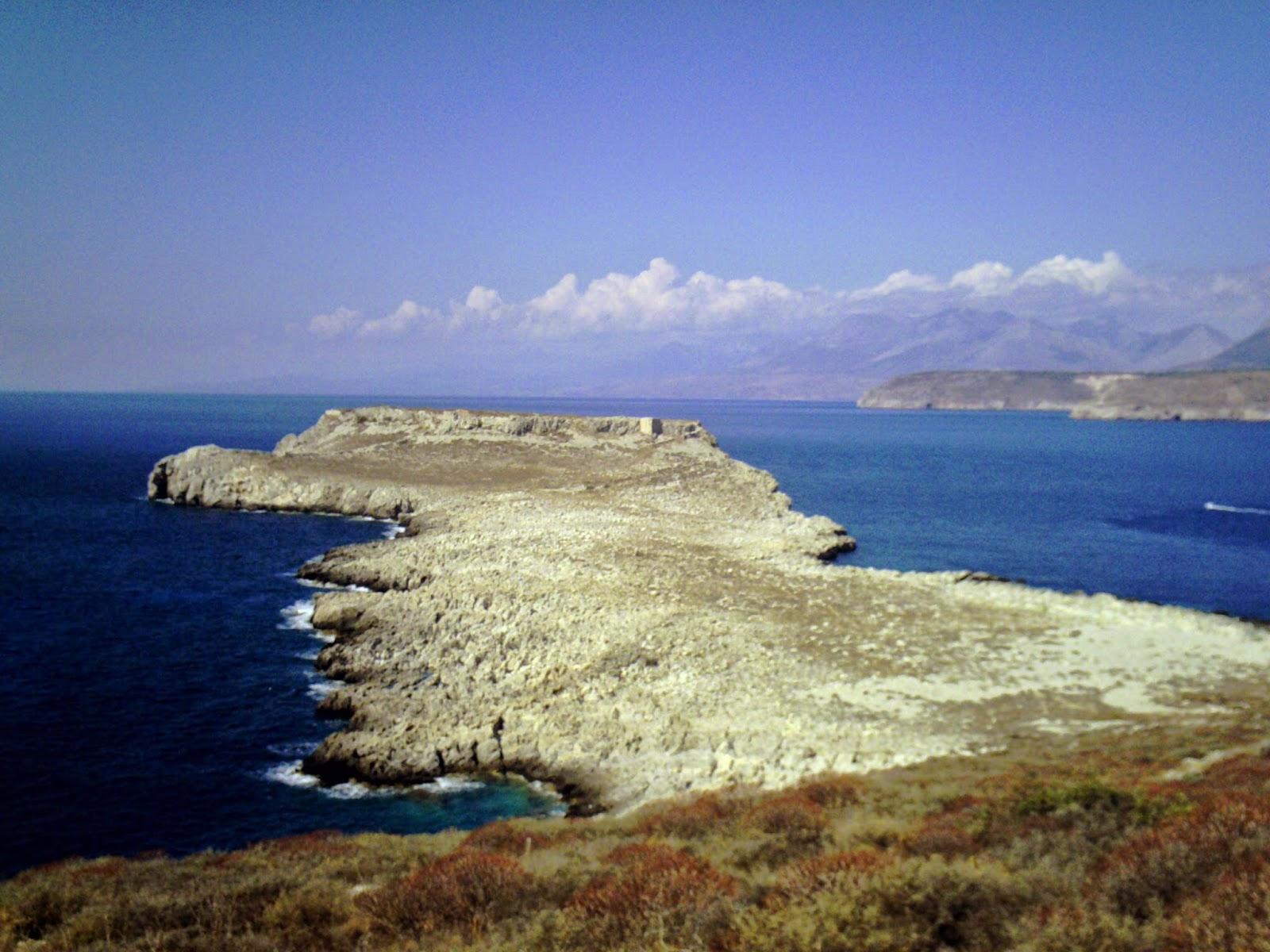 Tigani, Península de Mani, Pelopones, Grecia, Teatre romà