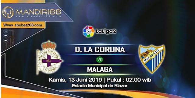 Prediksi Deportivo La Coruna Vs Malaga, Kamis 13 Juni 2019 Pukul 02.00 WIB