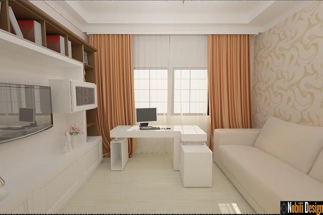 Design interior case moderne Bucuresti - Amenajare interioara living modern casa Bucuresti