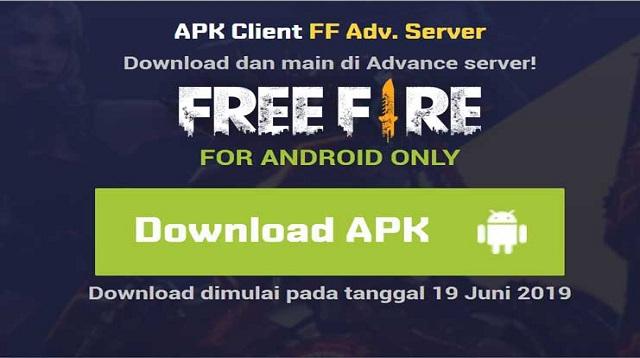 Download Free Fire Advance Server Terbaru