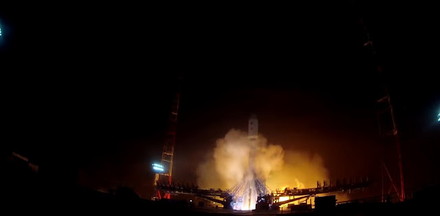A Soyuz-2.1b rocket with GLONASS-M No. 52 spacecraft launches from Plesetsk Cosmodrome on Sept. 22. Photo Credit: Russian Ministry of Defence