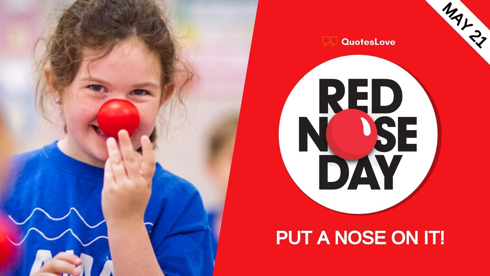Red Nose Day Quotes, Sayings Meaning, History, Images, Pictures, Wallpaper
