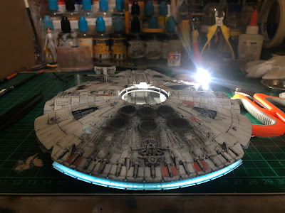 Bandai Millennium Falcon LED Lighting