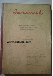Novel Sarinah Karangan Ir Soerkarno