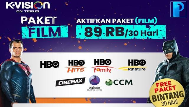 Harga & Cara Beli Paket FILM K Vision