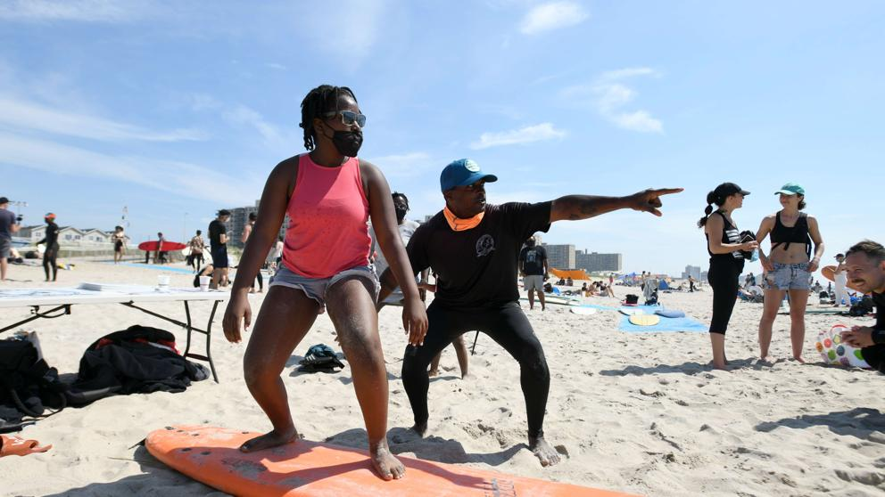 New York Opens The Beaches In View Of July 4th Celebrations