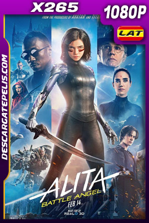 Alita: Ángel de combate (2019) HD 1080p BRRip x265 Latino – Ingles