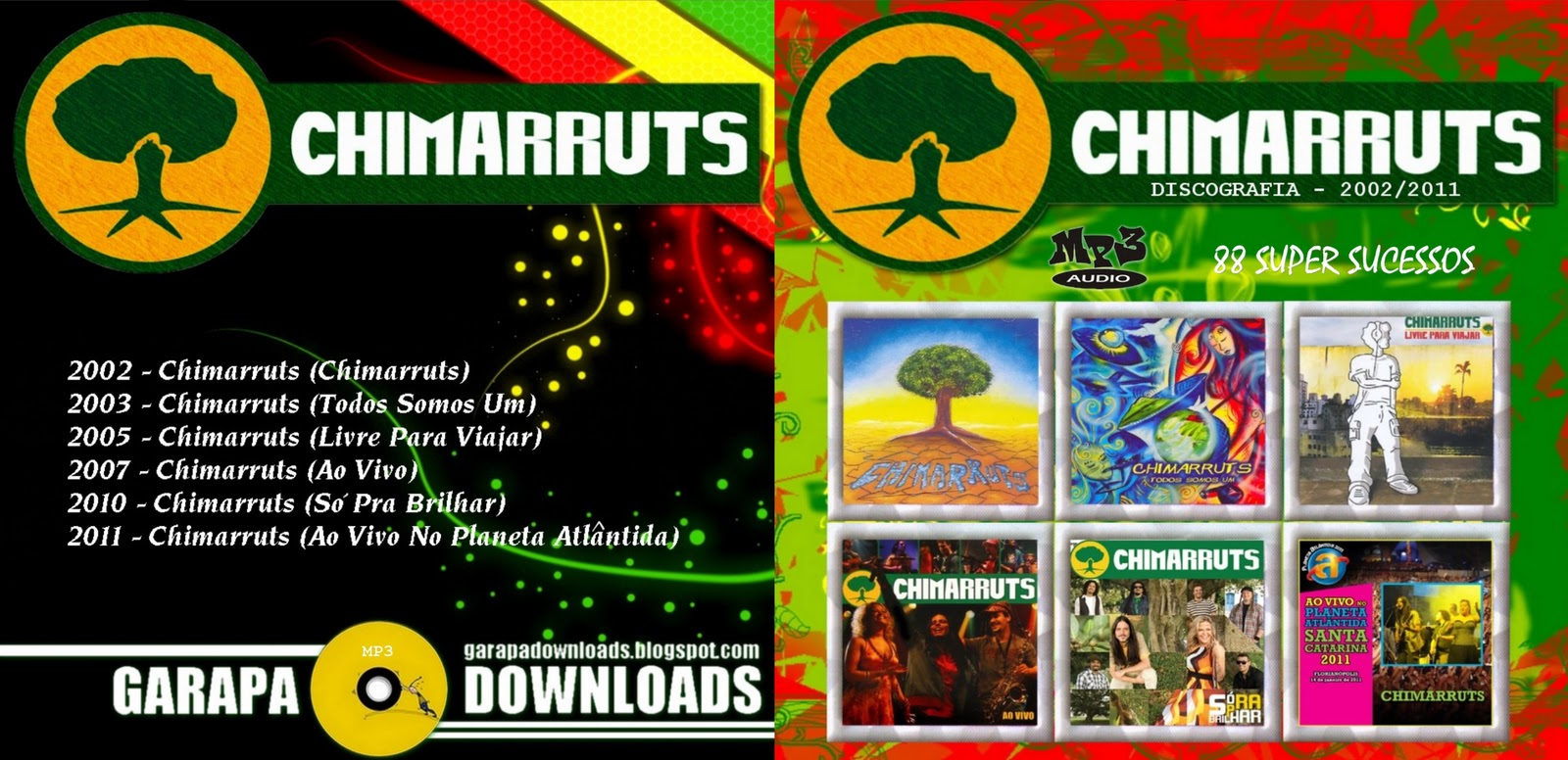 cd chimarruts ao vivo 2011