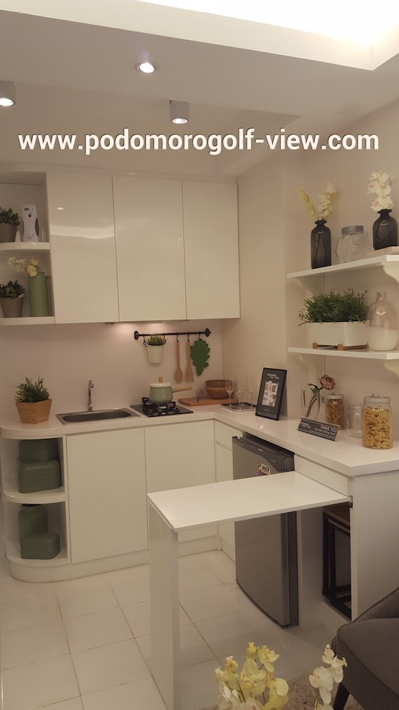 Foto show unit PGV apartment - kicthen