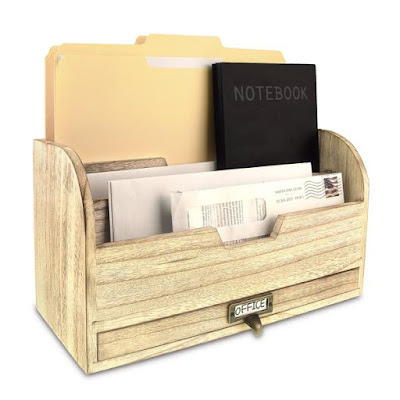 Buy Wholesale Wooden Desktop Organizer at NileCorp.com
