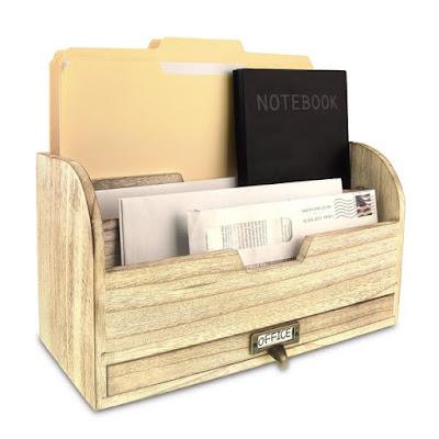Buy Wholesale Wooden Desktop Organizer at NileCorp.com