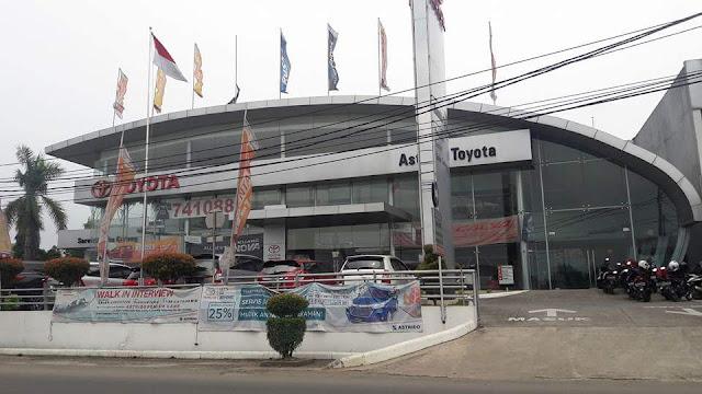 Dealer Toyota Jakarta Selatan