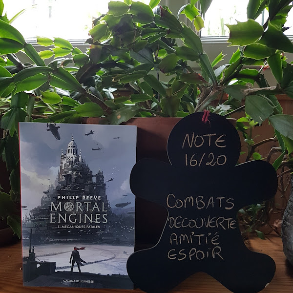 Mortal Engines, tome 1 : Mécaniques fatales de Philip Reeve