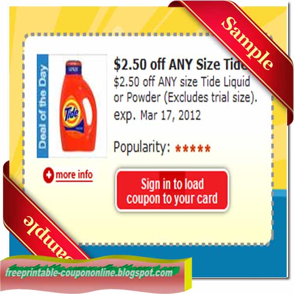 Tide coupons free printable august 2018