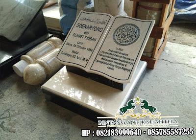 Batu Nisan Marmer | Batu Nisan Islam | Usaha Batu Nisan