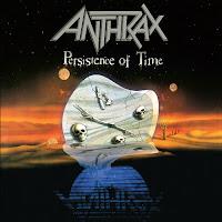 "Anthrax - ""Persistence of Time"" - alternatywna okładka"