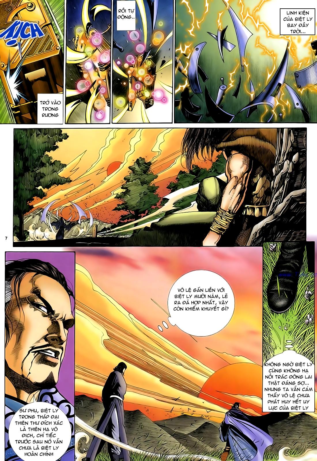 Anh hùng vô lệ Chap 29 trang 8
