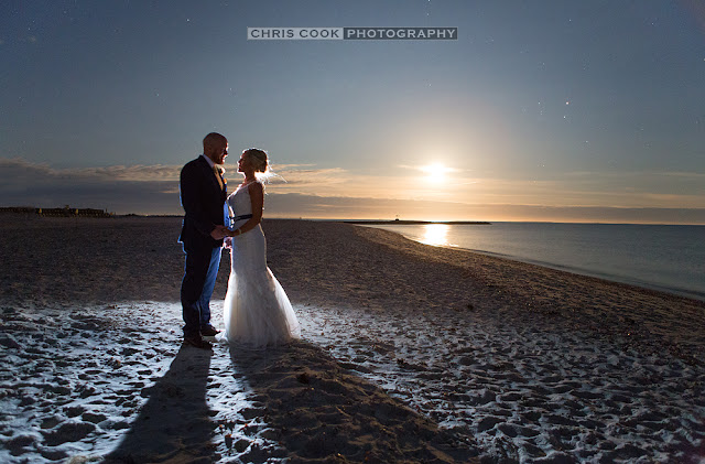 Cape Cod wedding blog photo from Chris Cook Photography about Wychmere Wedding Moon