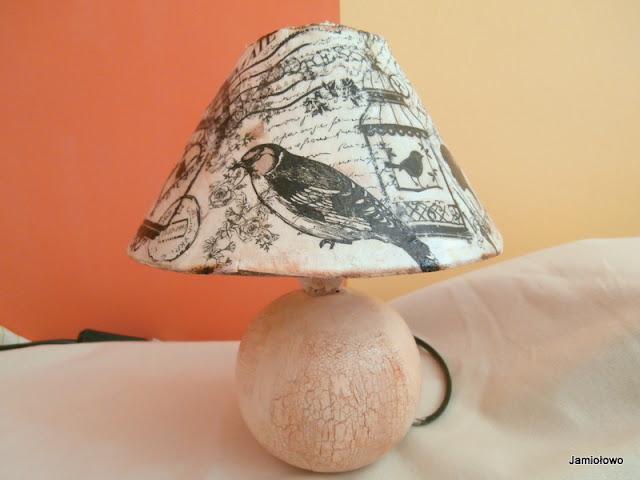 przemiana starej lampki