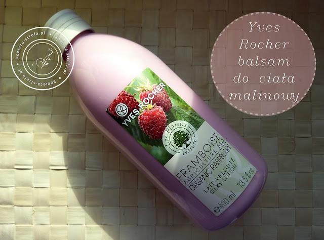 Malinowy CUDAK - Yves Rocher - mleczko do ciała - malina