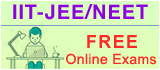 IIT-JEE Online Exams, NEET Online Exams