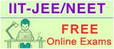 IIT-JEE Online Exams, NEET Online Exams