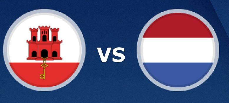 بث مباشر مباراة هولندا وجبل طارق