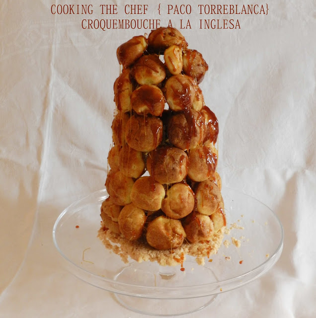 Croquembouche a la inglesa - April's Kitch