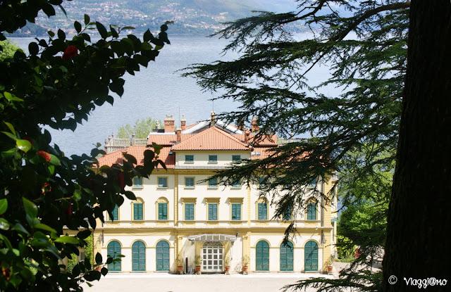 La splendida Villa Pallavicino sul lungo lago di Stresa