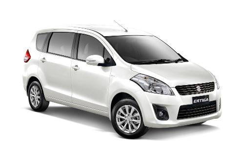 Suzuki Ertiga Pearl White