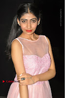 Actress Nidhisha Reddy Pos in Beautiful Pink Dress at Virus Telugu Movie Audio Launch .COM 0027.JPG