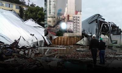 """VÍDEO: Marinha indica que efeitos do """"ciclone bomba"""", que matou 4, podem chegar na Bahia"""