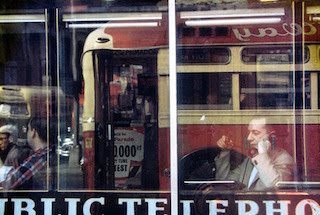 Saul Leiter, Phone Call 1957