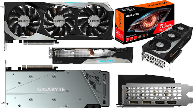 Gigabyte-Radeon-RX-6800-XT-Gaming-OC-Top-Front-Side-Back-IO-Box-View
