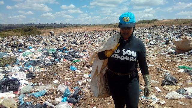 Rapper Vera Veronika reflete questão social dos catadores de lixo em seu novo clipe