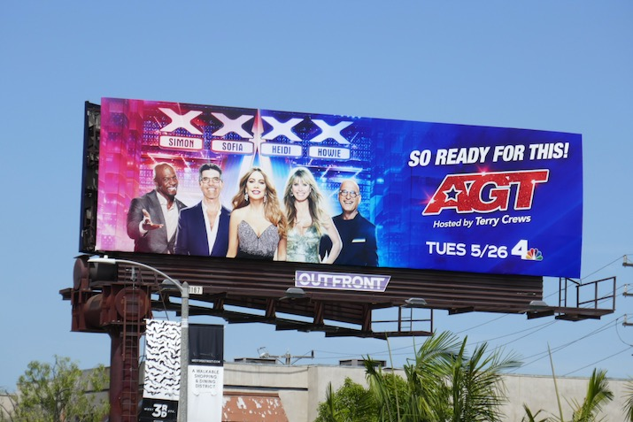 Americas Got Talent season 15 billboard
