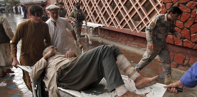 62 Orang Meninggal Dalam Ledakan Bom Di Masjid Afghanistan